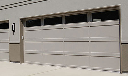 Recessed Panel Garage Door Zef Jam
